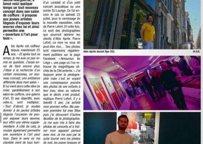 Parution - Galerie XPO 253 à Liège